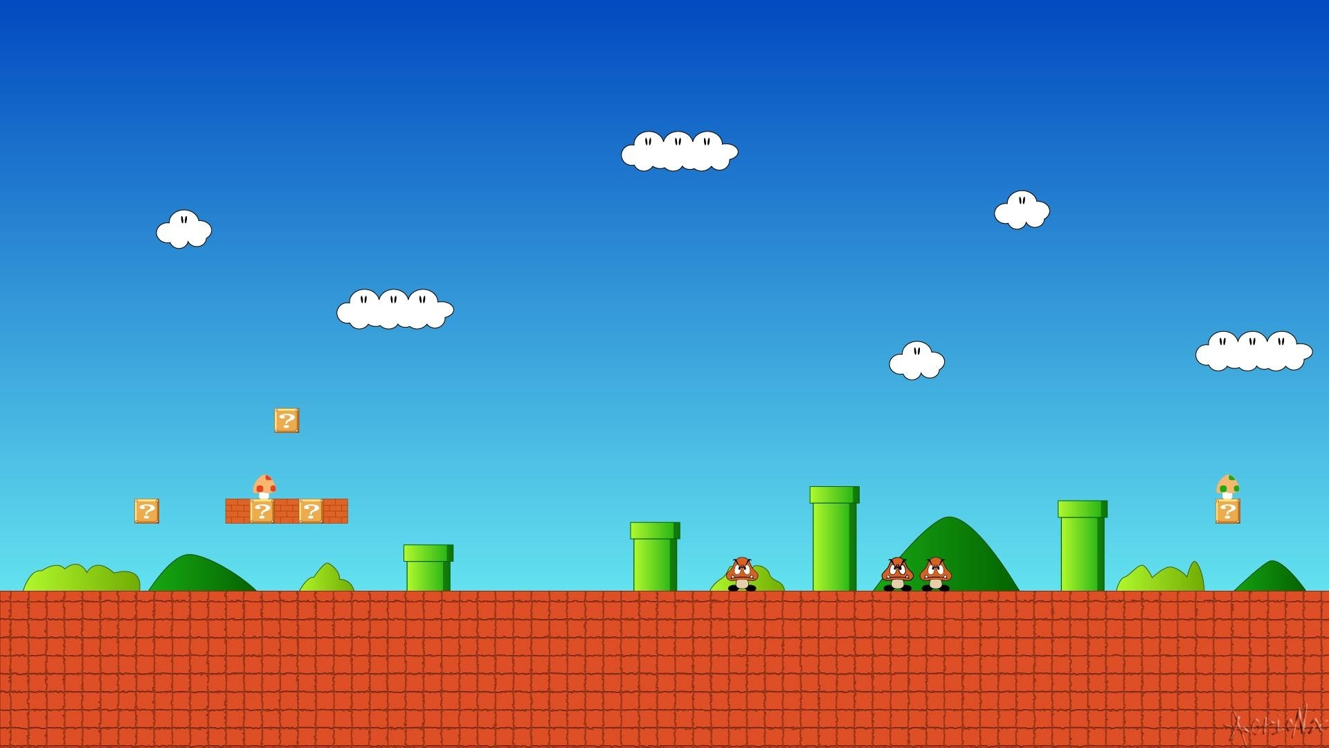 8 bit mario wallpapers - wallpaper cave
