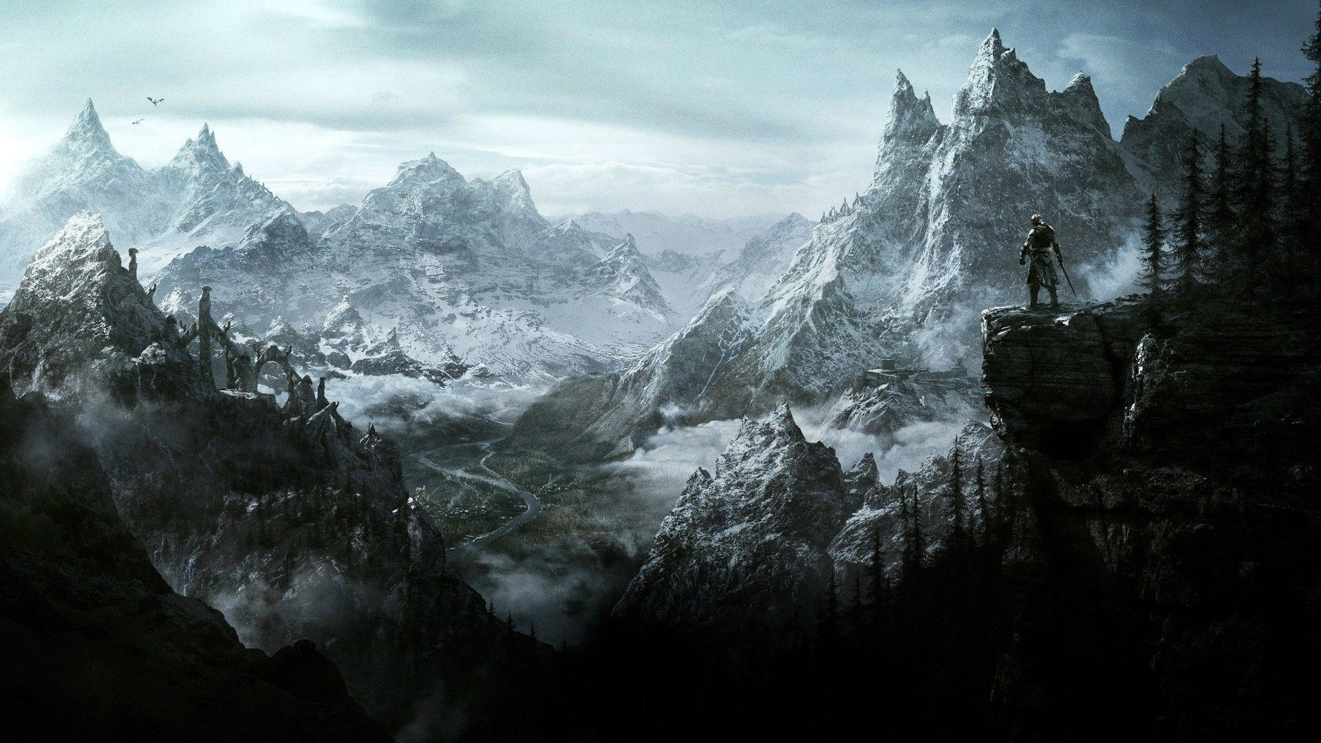 80+ skyrim wallpapers on wallpaperplay