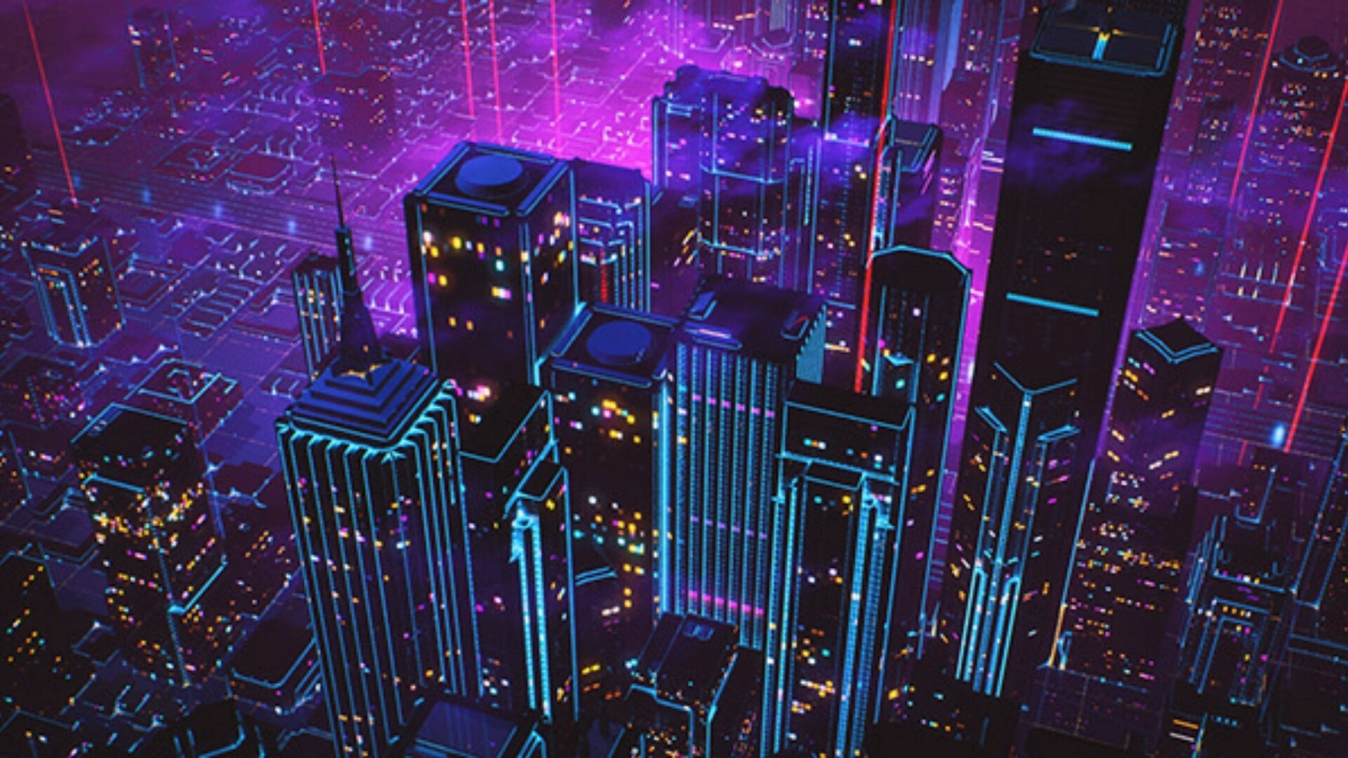 80s style retrowave neon artwork wallpaper | wallpaper studio 10