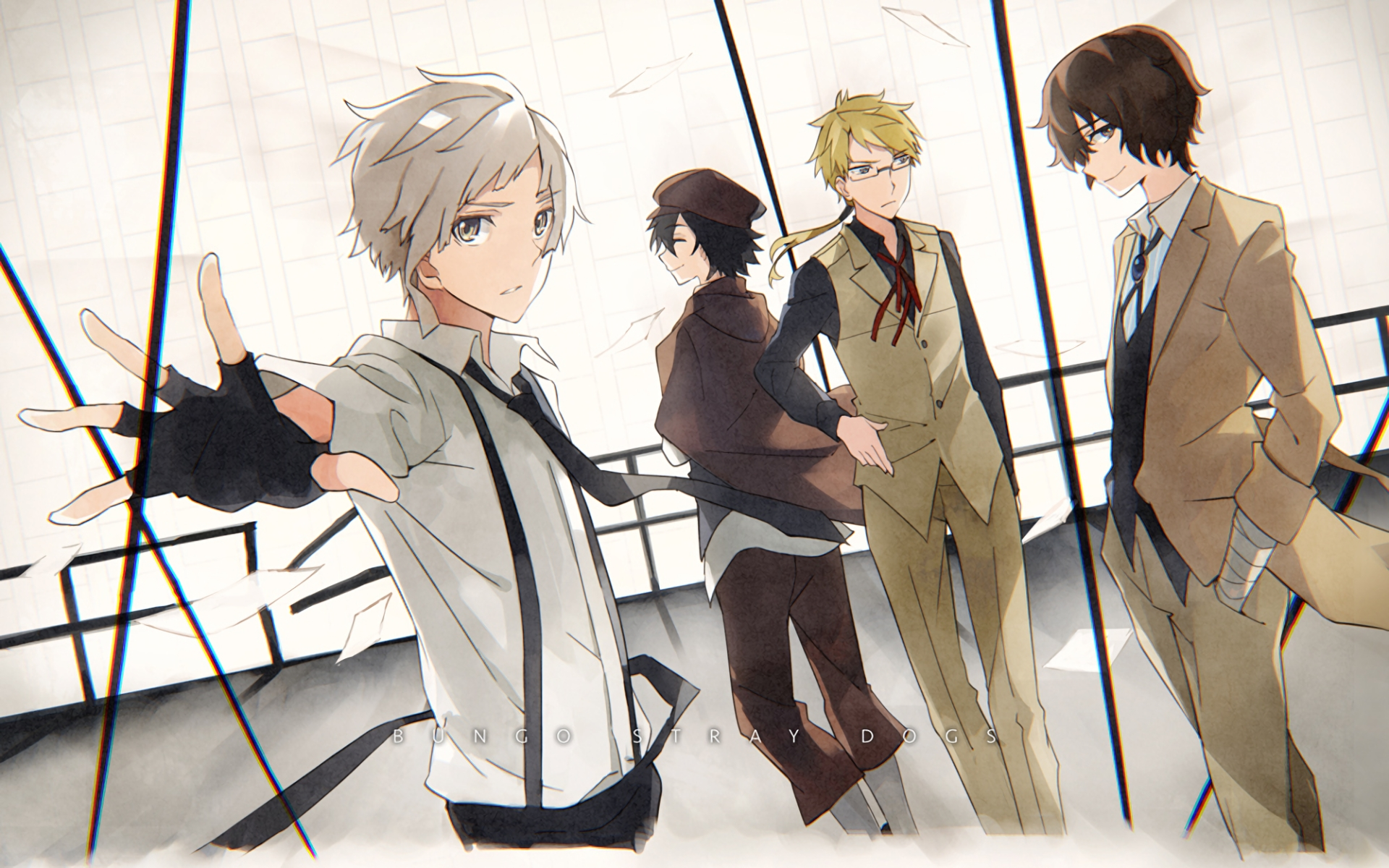 81 bungou stray dogs hd wallpapers | background images - wallpaper abyss