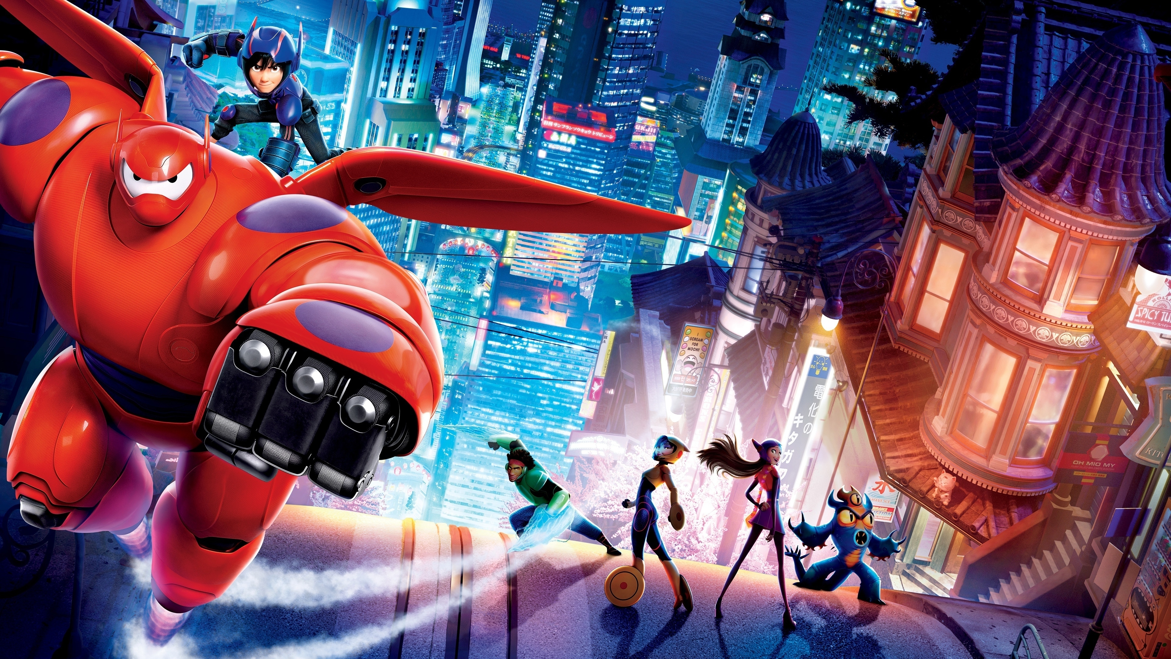 84 big hero 6 hd wallpapers | background images - wallpaper abyss