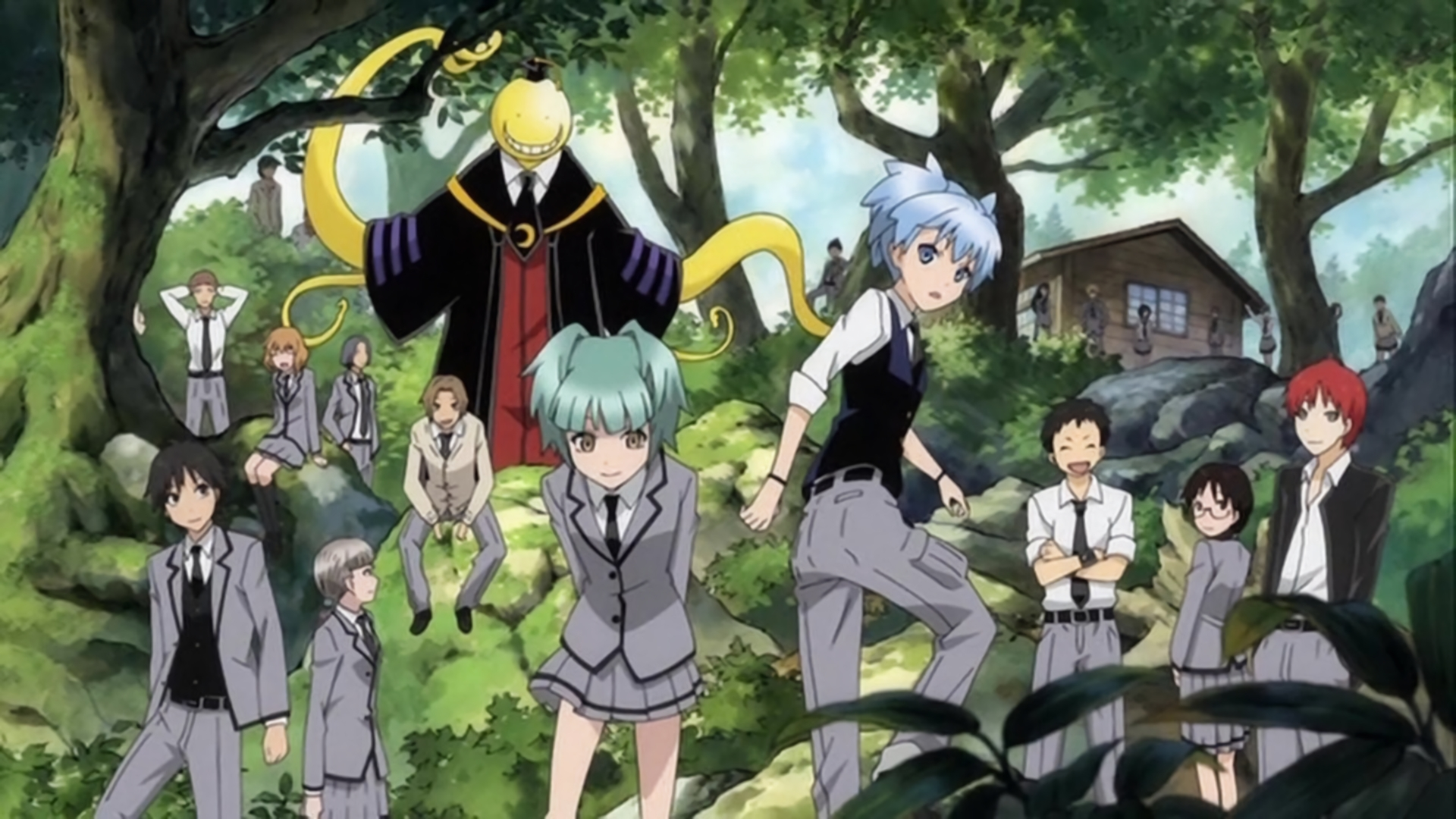 85 assassination classroom hd wallpapers | background images