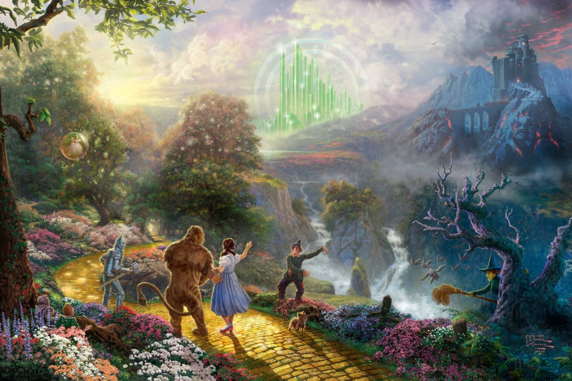 86 the wizard of oz hd wallpapers | background images - wallpaper abyss