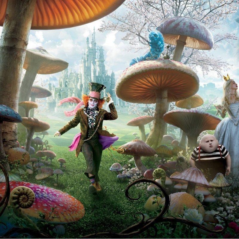 10 Top Alice In Wonderland Wallpaper FULL HD 1920×1080 For PC Background 2021 free download 87 alice in wonderland 2010 hd wallpapers background images 2 800x800
