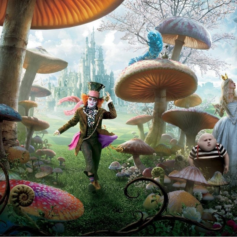 10 Most Popular Alice In Wonderland Hd Wallpaper FULL HD 1080p For PC Desktop 2018 free download 87 alice in wonderland 2010 hd wallpapers background images 800x800