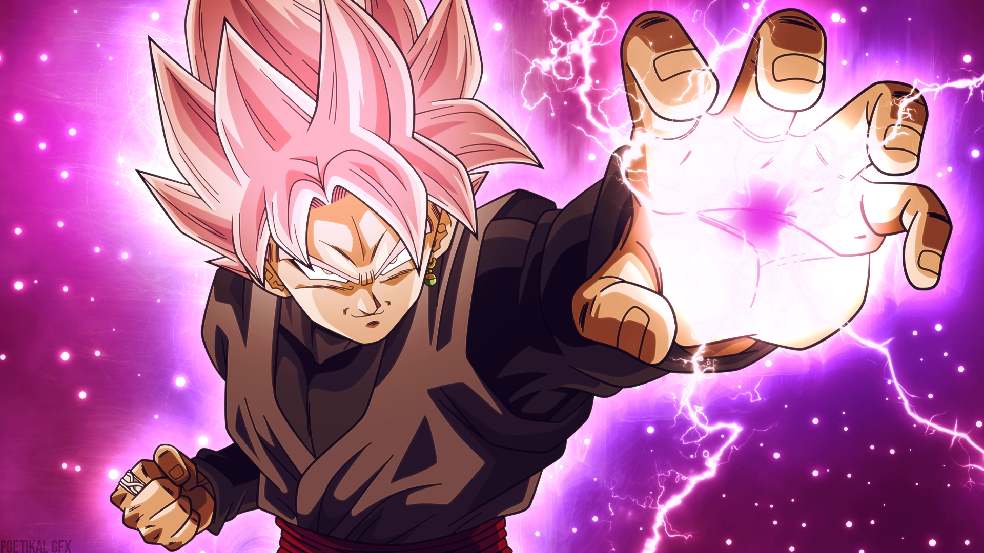88 black goku hd wallpapers | background images - wallpaper abyss