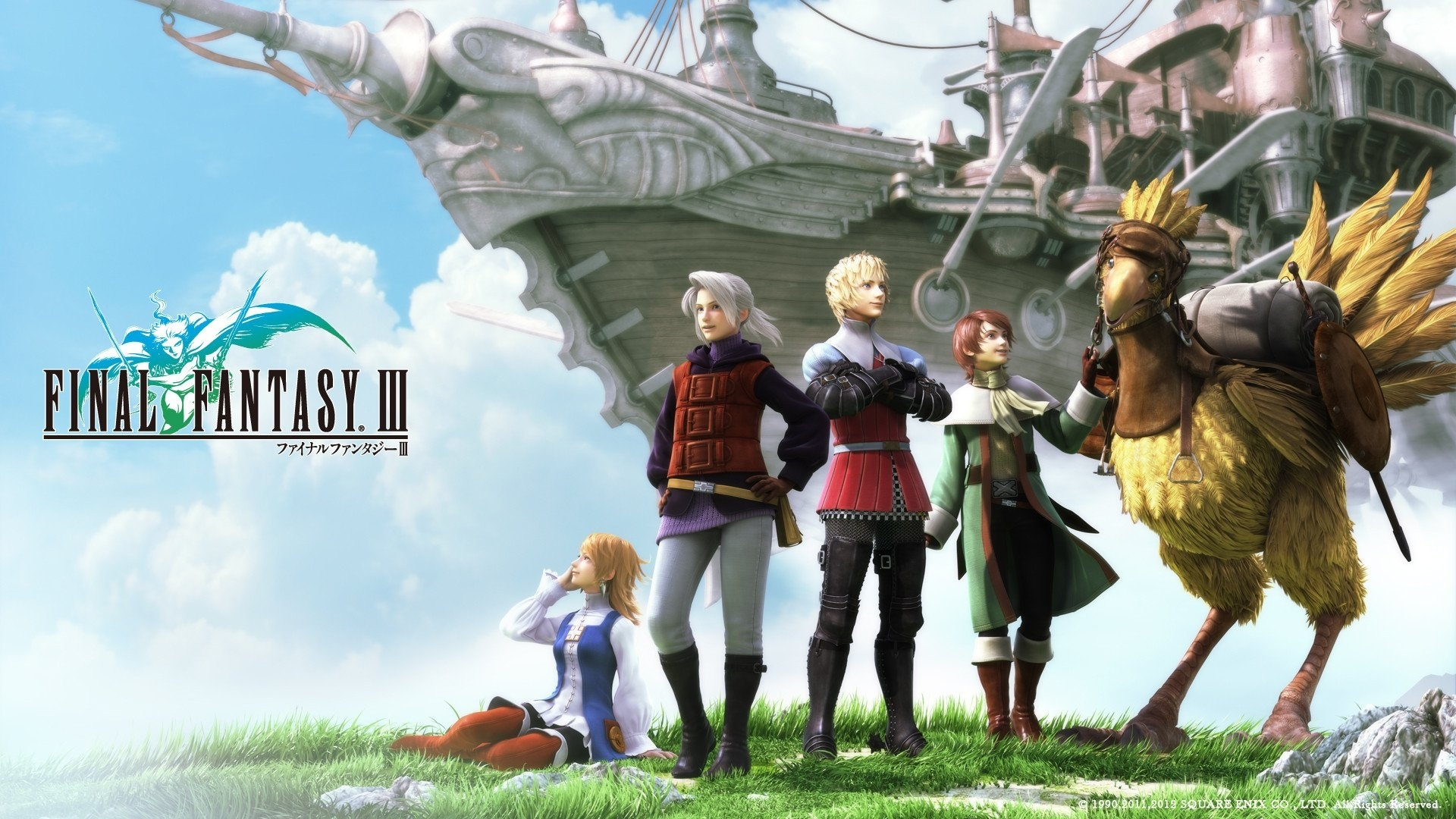 9 final fantasy iii hd wallpapers | background images - wallpaper abyss