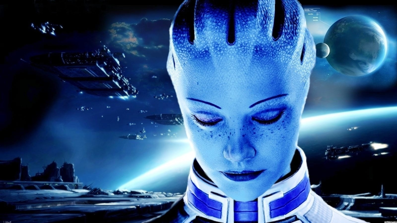 91 liara t'soni hd wallpapers | background images - wallpaper abyss