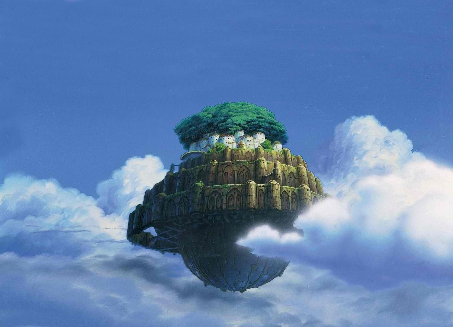 92 laputa: castle in the sky hd wallpapers | background images