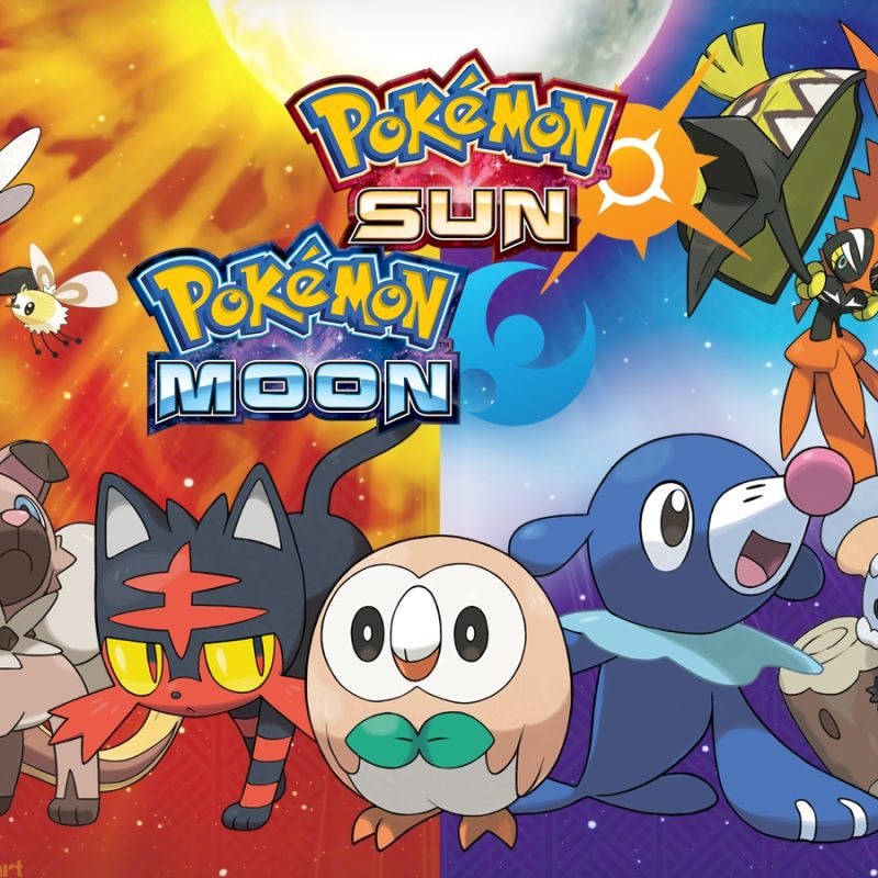 10 New Pokemon Sun And Moon Desktop Wallpaper FULL HD 1920×1080 For PC Desktop 2018 free download 94 pokemon sun and moon hd wallpapers background images 5 800x800