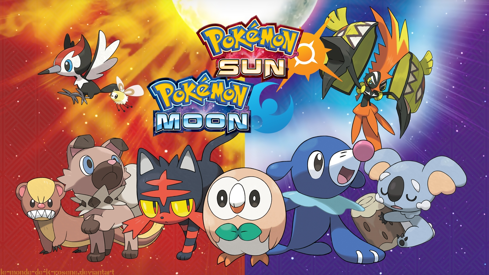 94 pokémon sun and moon hd wallpapers | background images