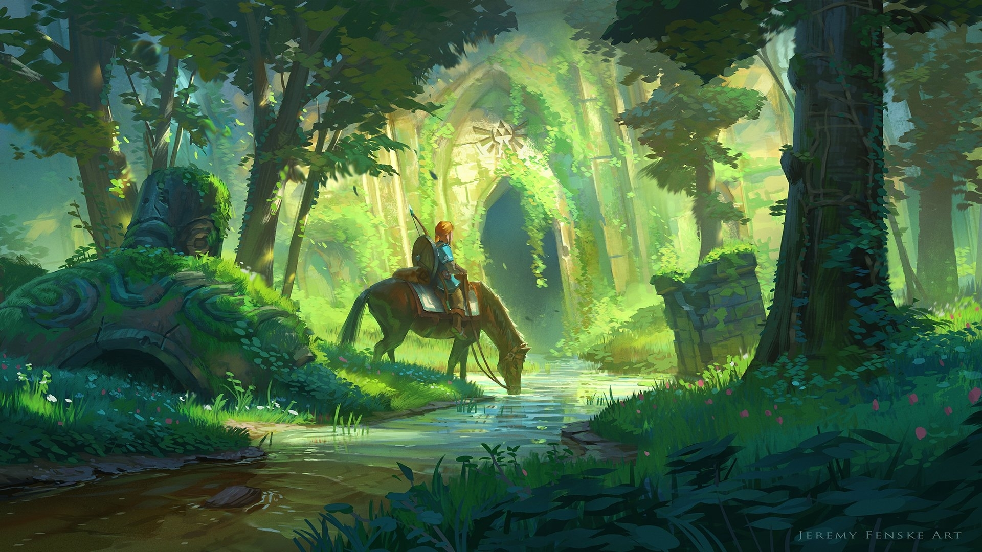948 zelda hd wallpapers | background images - wallpaper abyss
