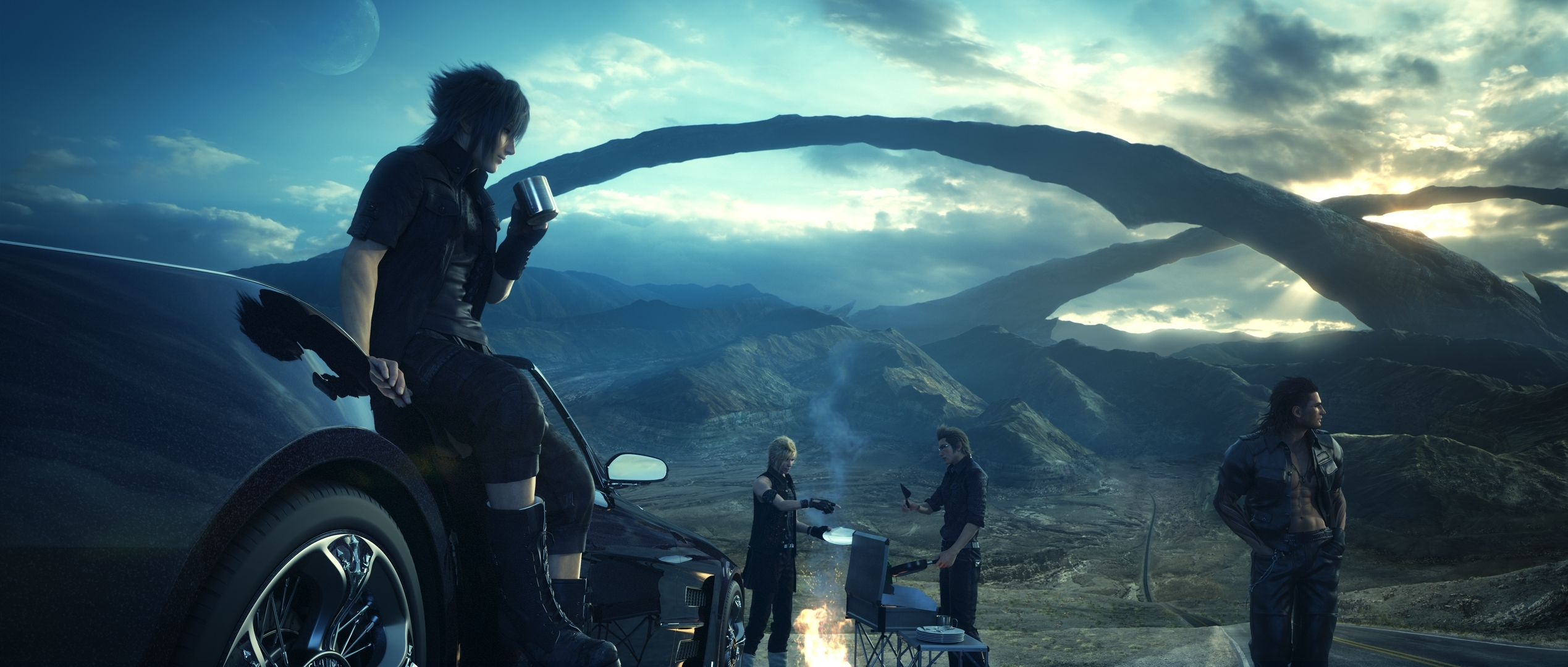 98 final fantasy xv hd wallpapers | background images - wallpaper abyss