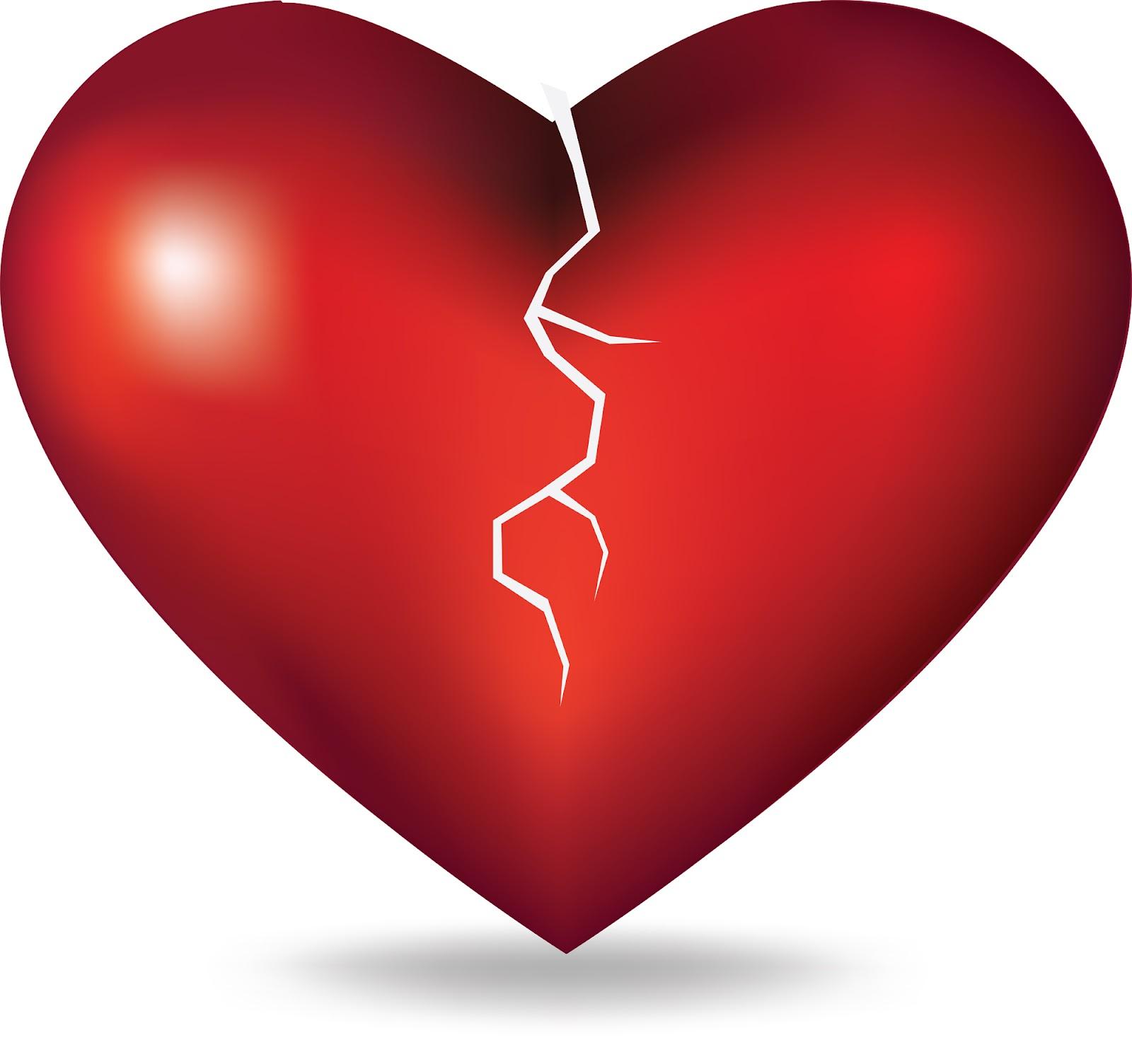 a broken heart |