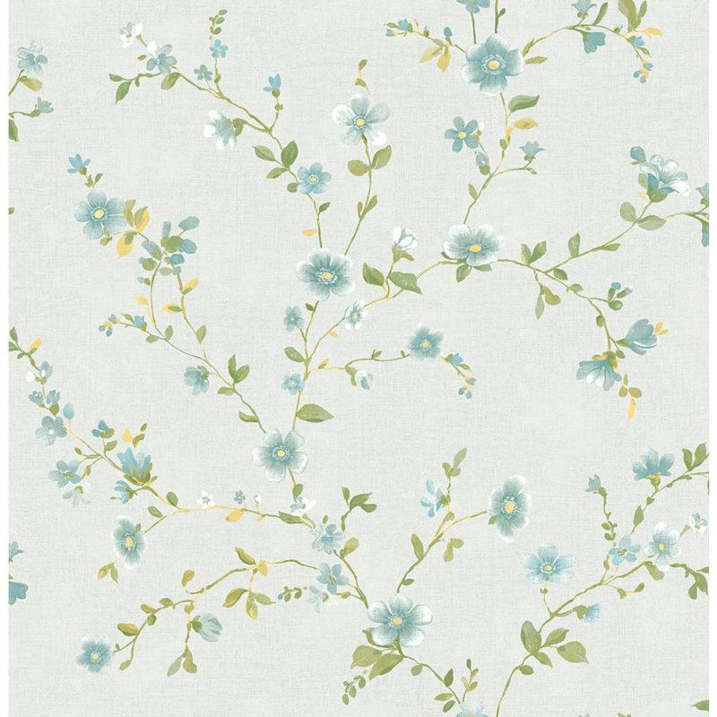 10 New Light Blue Flower Wallpaper FULL HD 1920×1080 For PC Desktop 2018 free download a street delphine light blue floral wallpaper sample 2657 22248sam 800x800