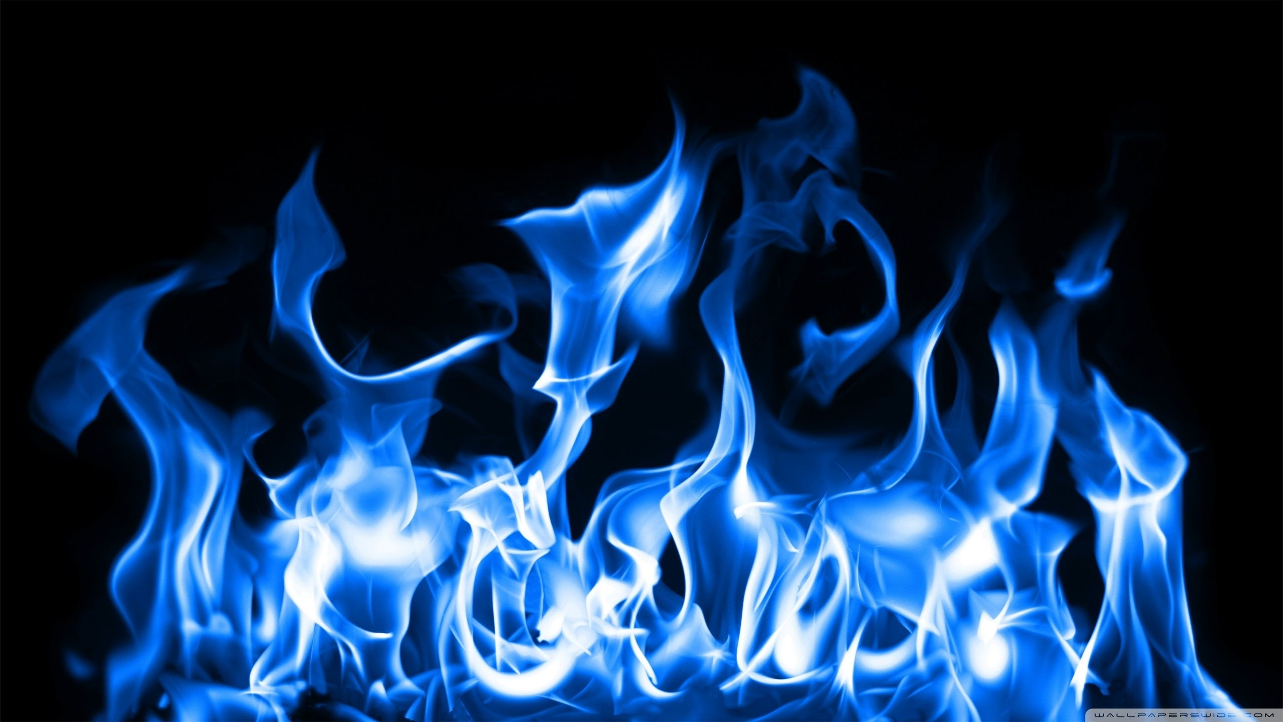 10 Latest Cool Dark Blue Fire Backgrounds FULL HD 1920×1080 For PC Desktop