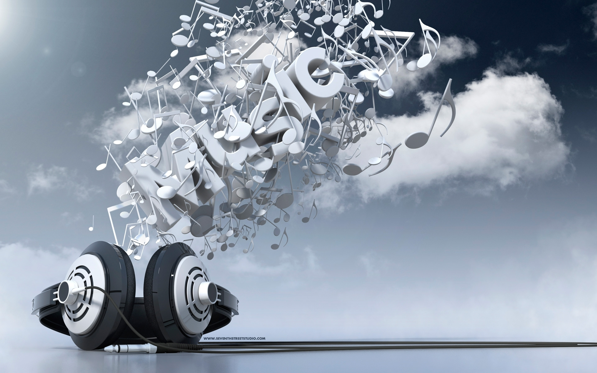 abstract music 3d headphone images wallpaper h #4352 wallpaper