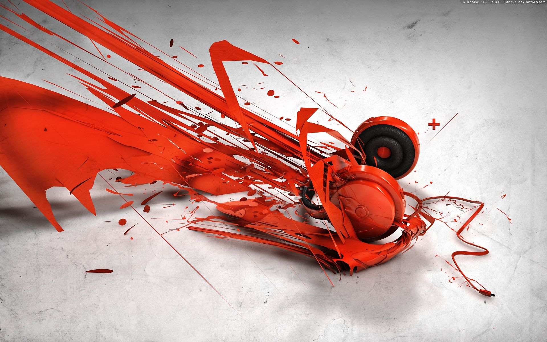 abstract music headphones wallpapers | hd wallpapers | id #10396