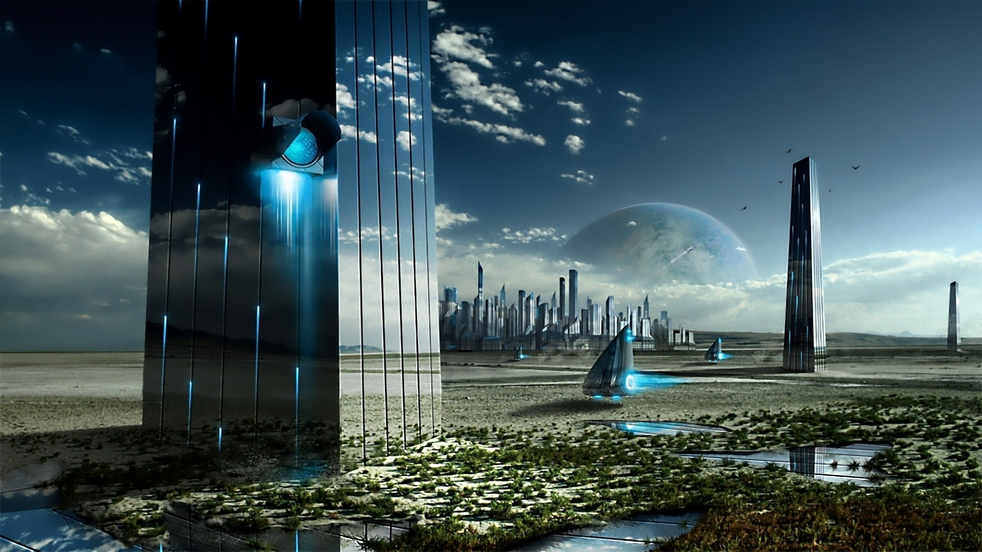abstract sci fi wallpapers (desktop, phone, tablet) - awesome