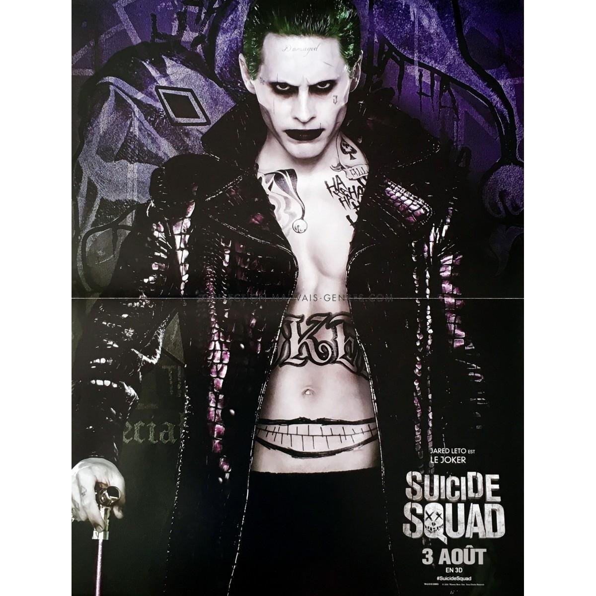 affiche de suicide squad - joker