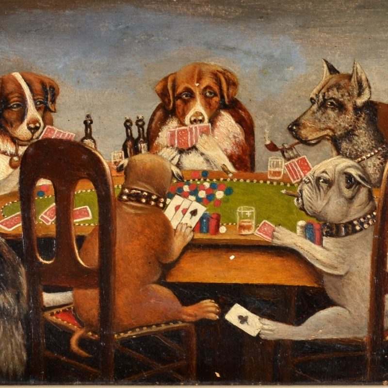 10 Top Dogs Playing Poker Wallpaper FULL HD 1920×1080 For PC Desktop 2018 free download after c m coolidge dogs playing poker oil on board 19 x 34 5cm 800x800