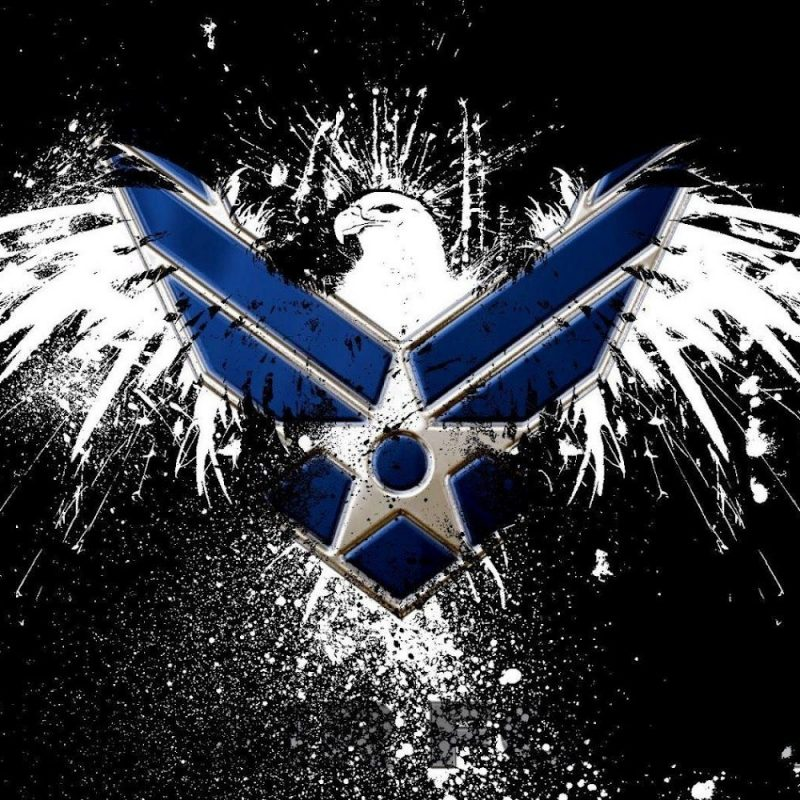 10 Most Popular Air Force Logo Wallpaper 1920X1080 FULL HD 1080p For PC Background 2018 free download air force logo hd wallpaper slwallpapers patriotic artwork 1 800x800