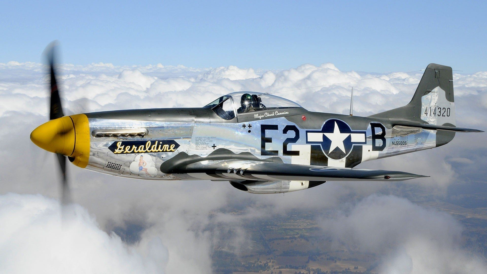 aircraft warbird p-51 mustang wallpaper | 1920x1080 | 251972