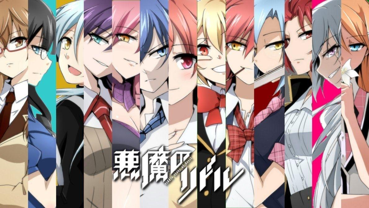 akuma no riddle wallpaperplumenoare | anime for the win