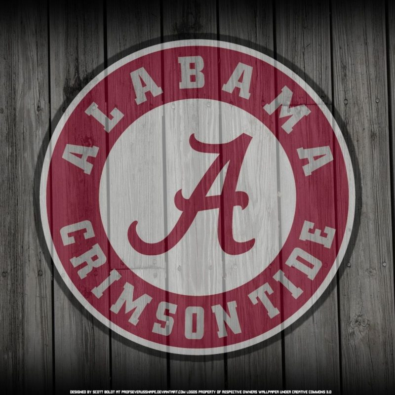 10 Latest Alabama Football Pictures Wallpaper FULL HD 1920×1080 For PC Background 2018 free download alabama crimson tide logo on wood background by profseverussnape 1 800x800