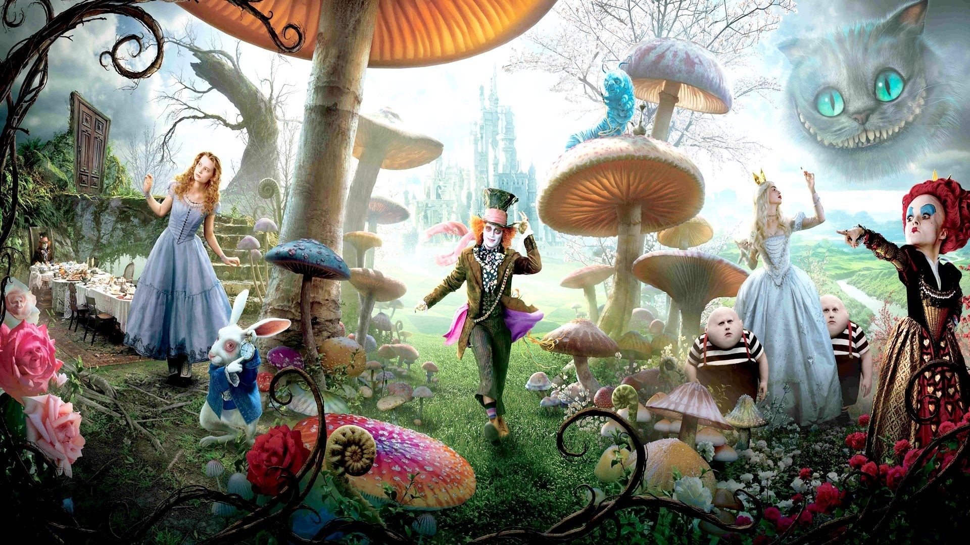 alice in wonderland movie 2016 hd wallpaper #02556