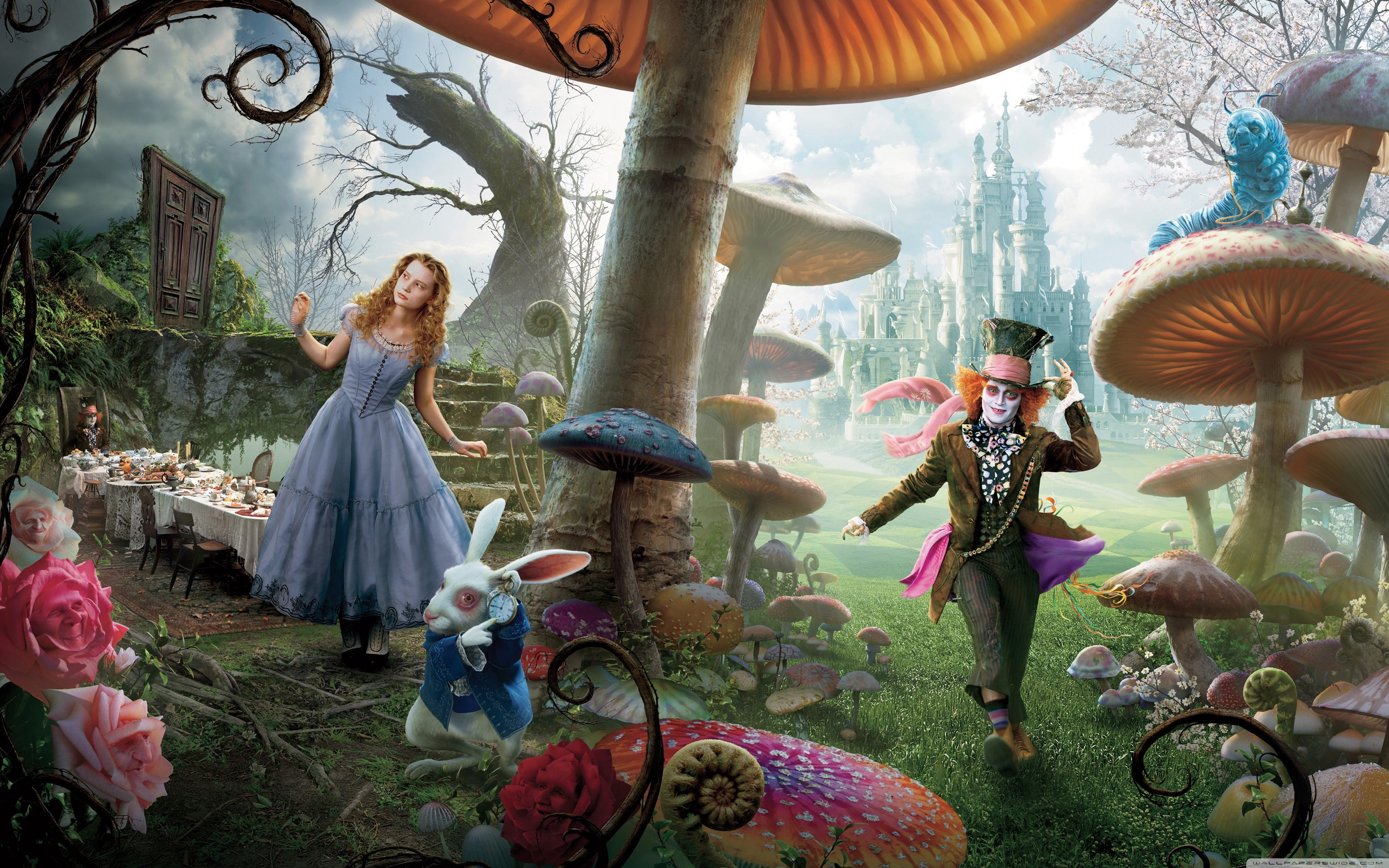 alice in wonderland movie ❤ 4k hd desktop wallpaper for 4k ultra hd
