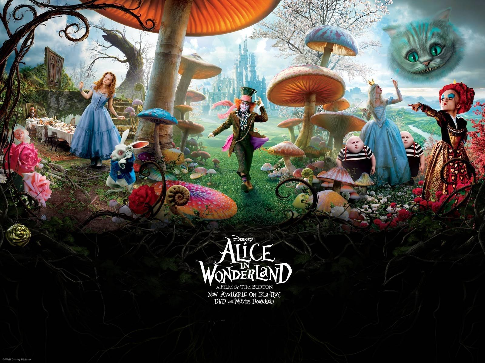 alice in wonderland wallpapers - wallpaper cave