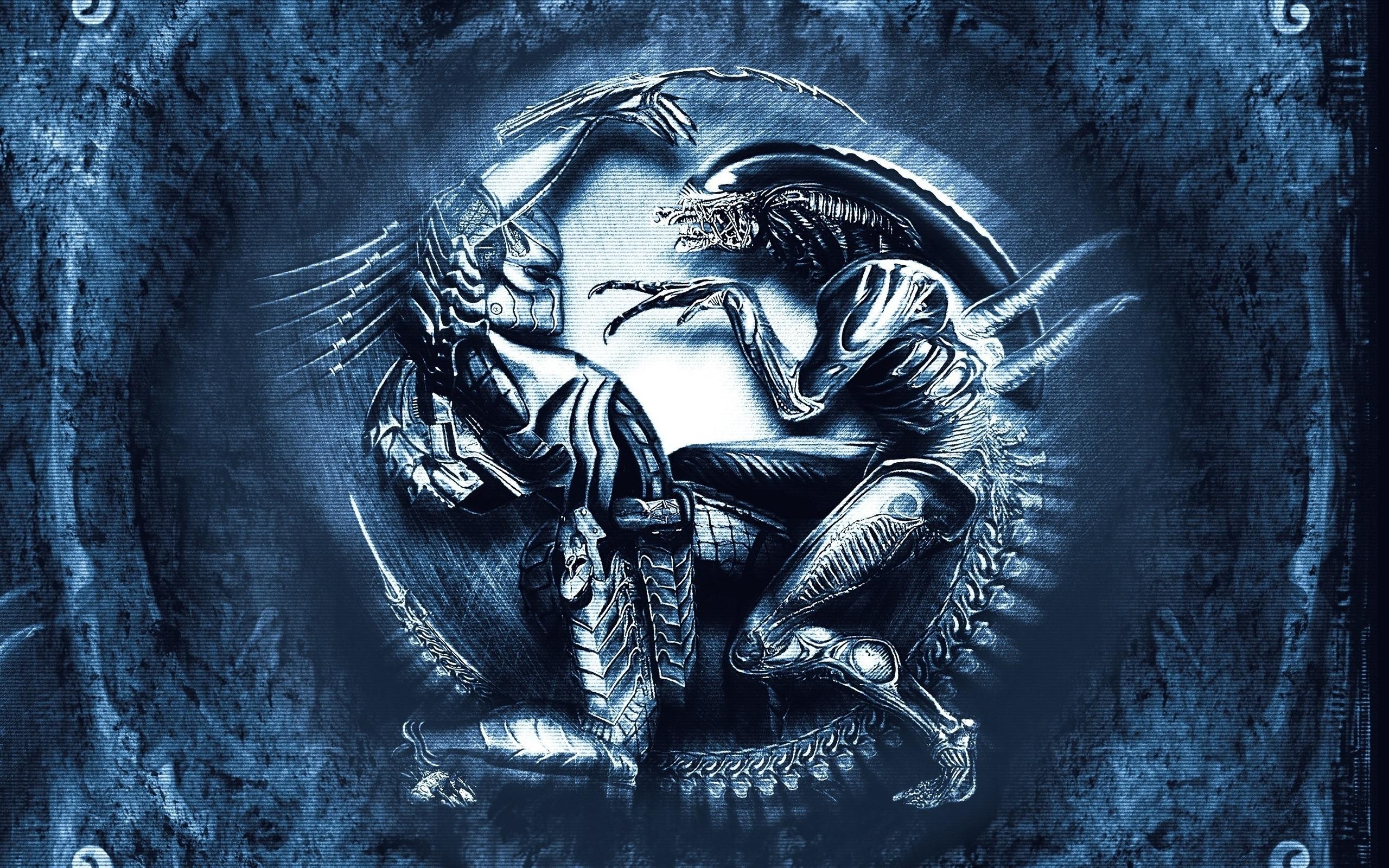 alien vs. predator full hd fond d'écran and arrière-plan   2560x1600
