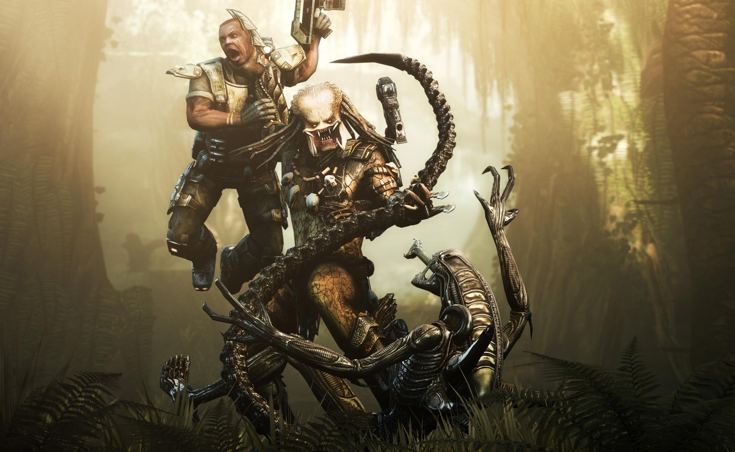 aliens vs. predator full hd fond d'écran and arrière-plan