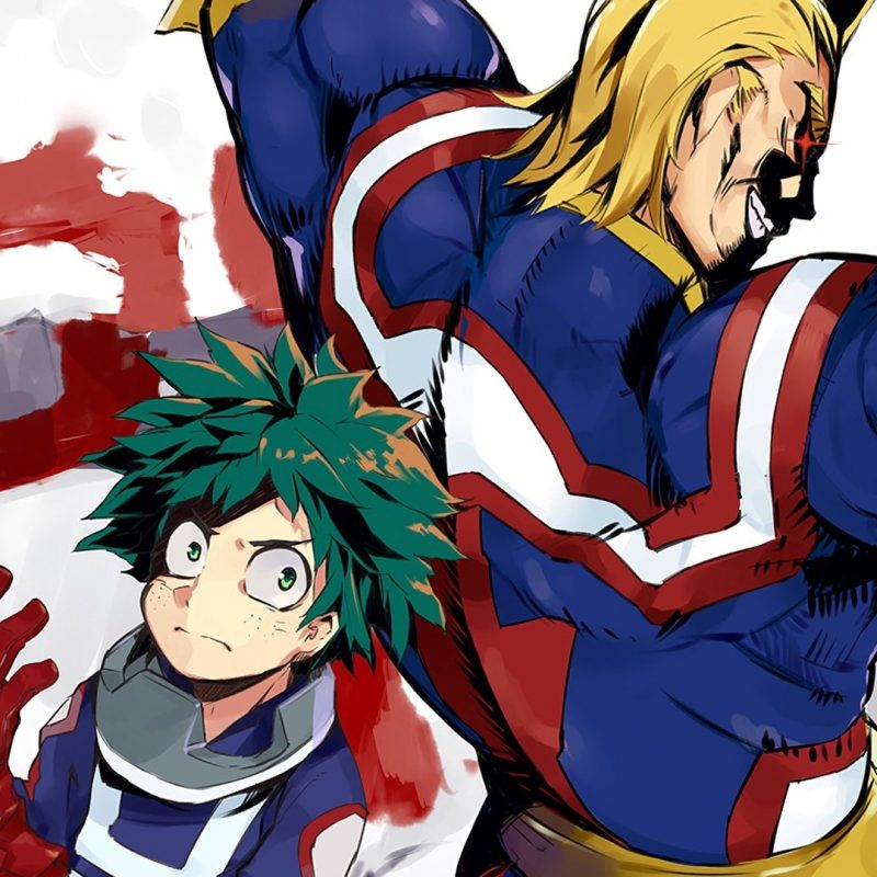 10 New All Might My Hero Academia Wallpaper FULL HD 1920×1080 For PC Background 2018 free download all might and midoriya my hero acade wallpaper 30256 800x800