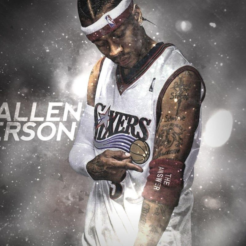 10 New Allen Iverson Wallpaper Hd FULL HD 1080p For PC Desktop 2018 free download allen iverson wallpapers wallpaper cave 800x800