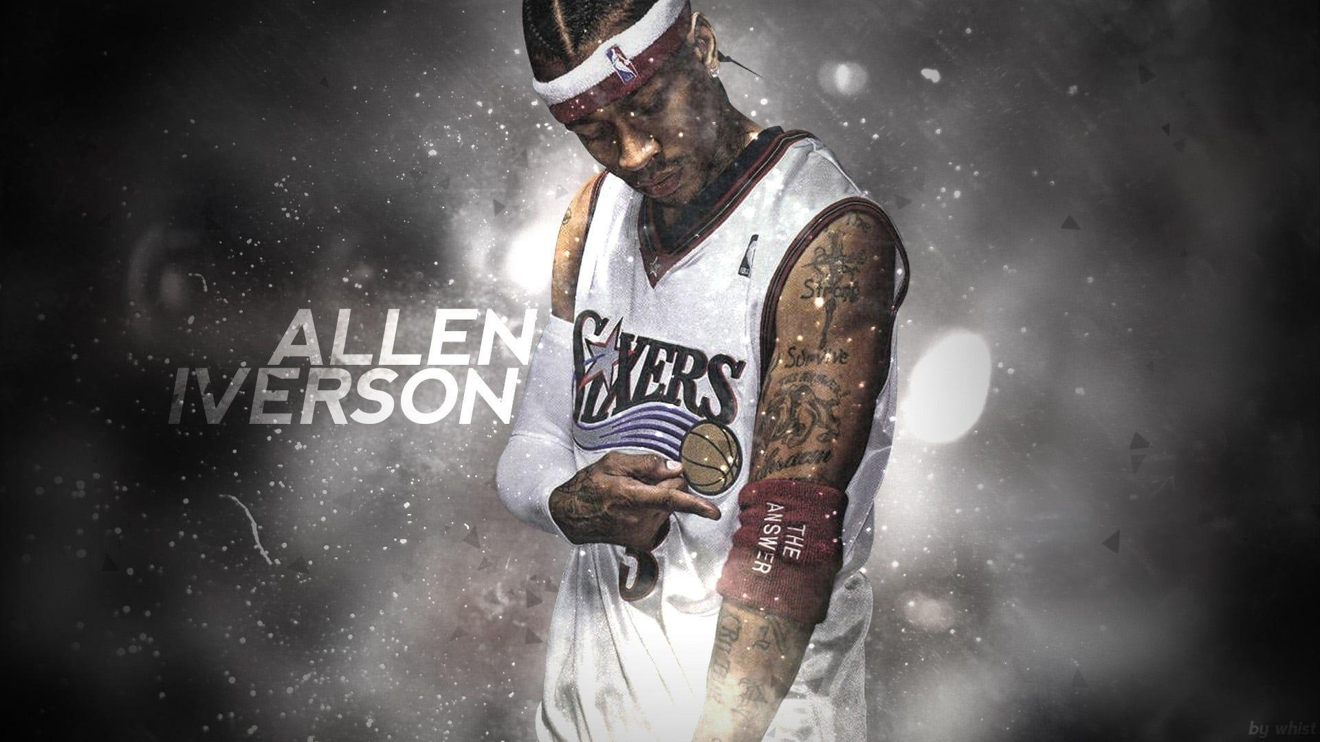 allen iverson wallpapers - wallpaper cave