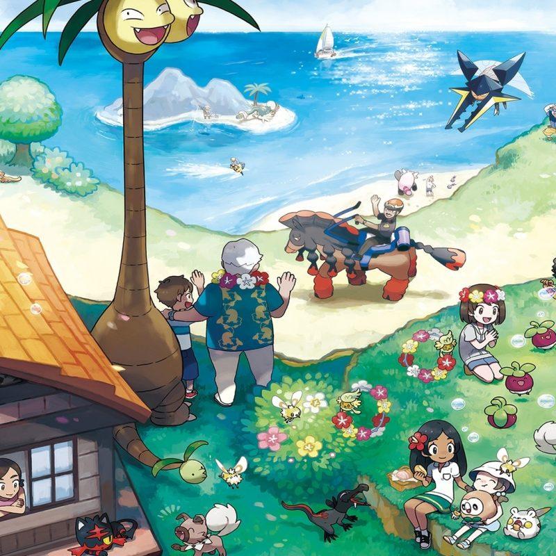 10 New Pokemon Sun And Moon Desktop Wallpaper FULL HD 1920×1080 For PC Desktop 2018 free download alola region pokemon pokemon sun and wallpaper 14642 1 800x800