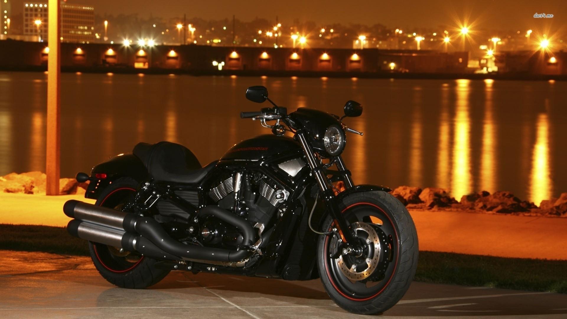 amazing black motorcycle harley davidson wallp #10703 wallpaper