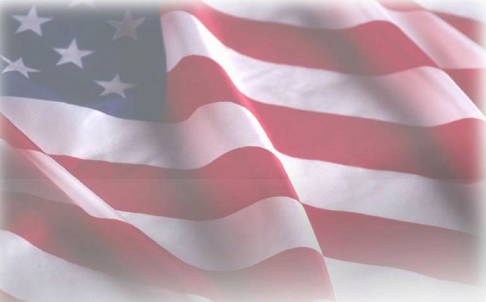 american flag faded background - round designs