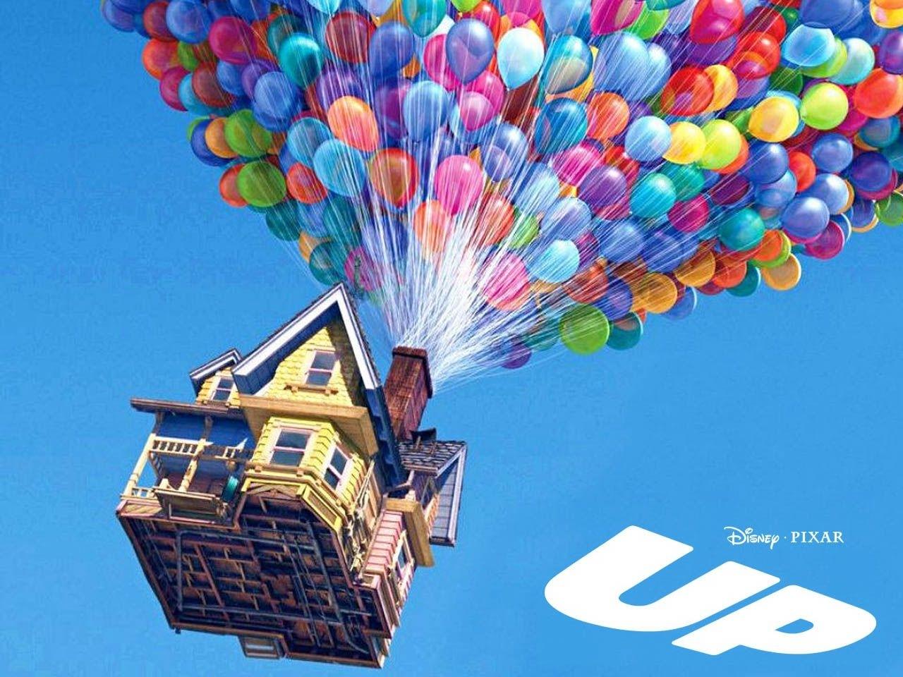 an adventurea balloon: pixar's up! | carl fredricksen, disney