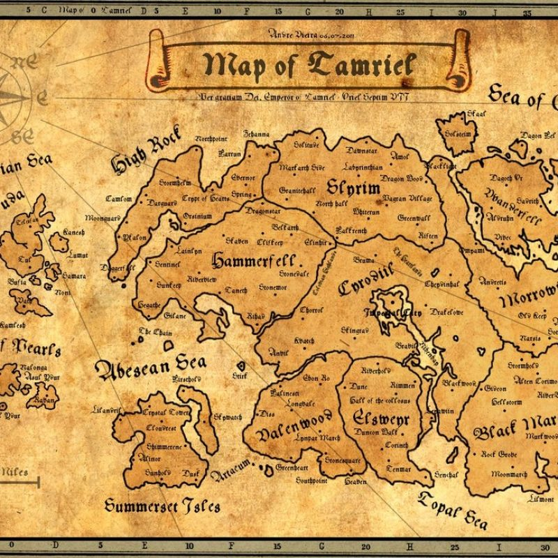 10 Best Elder Scrolls Map Wallpaper FULL HD 1080p For PC Background 2020 free download ancient map of tamrielandrewscrolls on deviantart 800x800