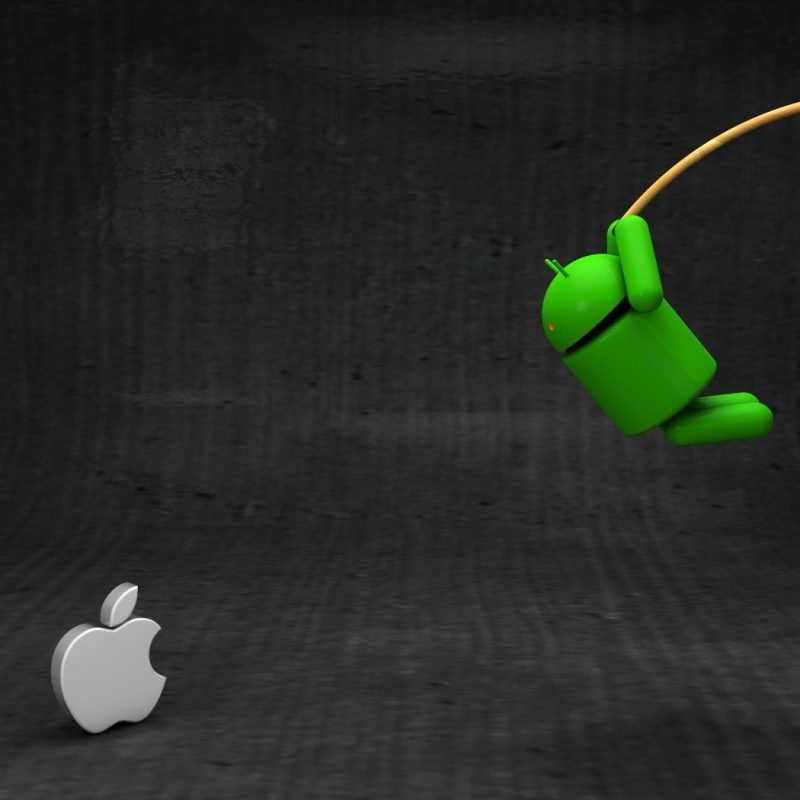 10 Latest Android Vs Apple Wallpapers FULL HD 1080p For PC Background 2018 free download android vs apple wallpaper 800x800