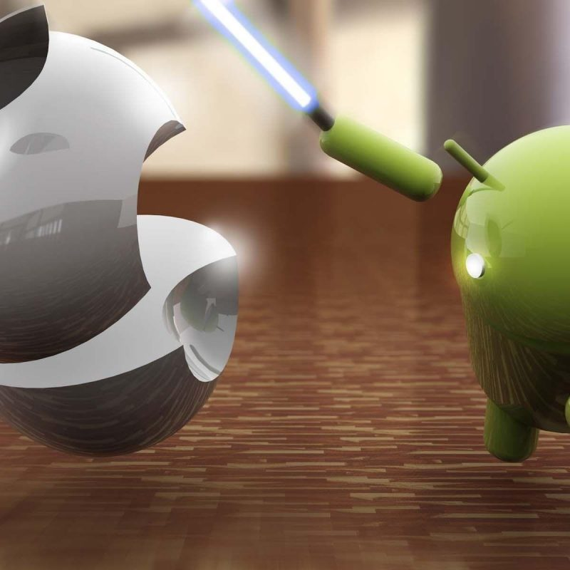 10 Best Android Vs Apple Wallpaper FULL HD 1920×1080 For PC Desktop 2018 free download android vs apple wallpapers wallpaper cave 5 800x800