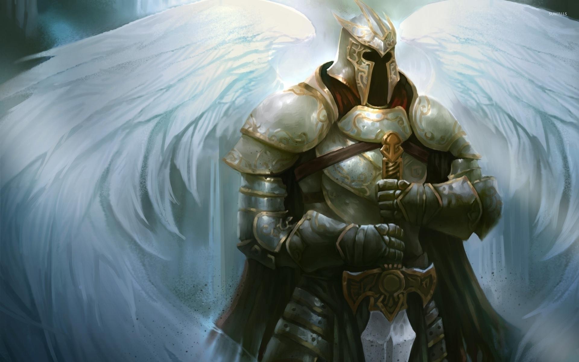 angel warrior wallpaper - fantasy wallpapers - #45545