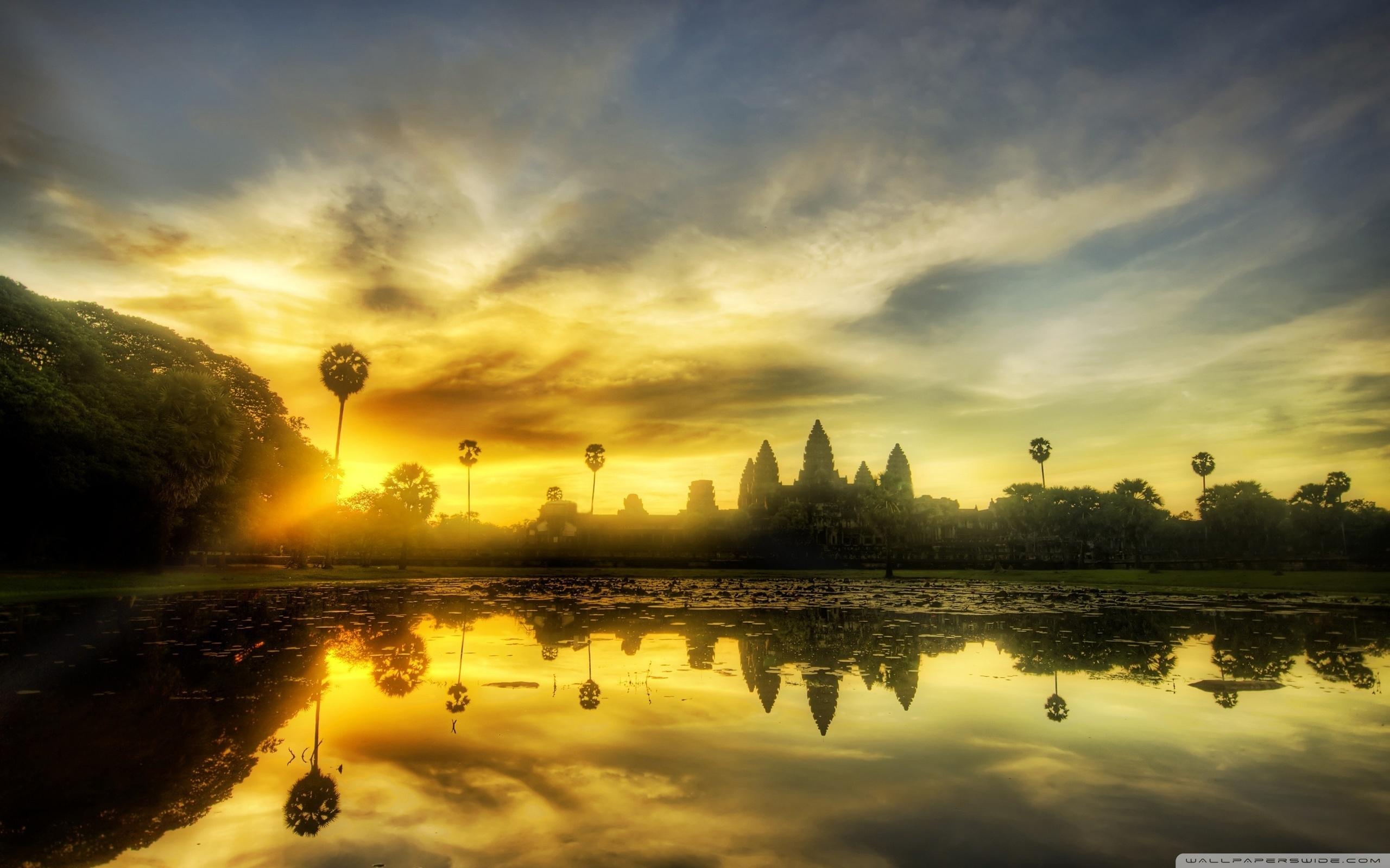 angkor wat, cambodia ❤ 4k hd desktop wallpaper for 4k ultra hd tv