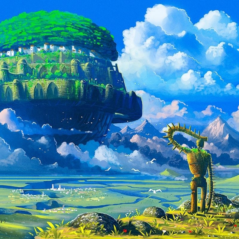 10 Top Castle In The Sky Wallpaper FULL HD 1920×1080 For PC Desktop 2020 free download anime castle in the sky robot studio ghibli floating island 800x800