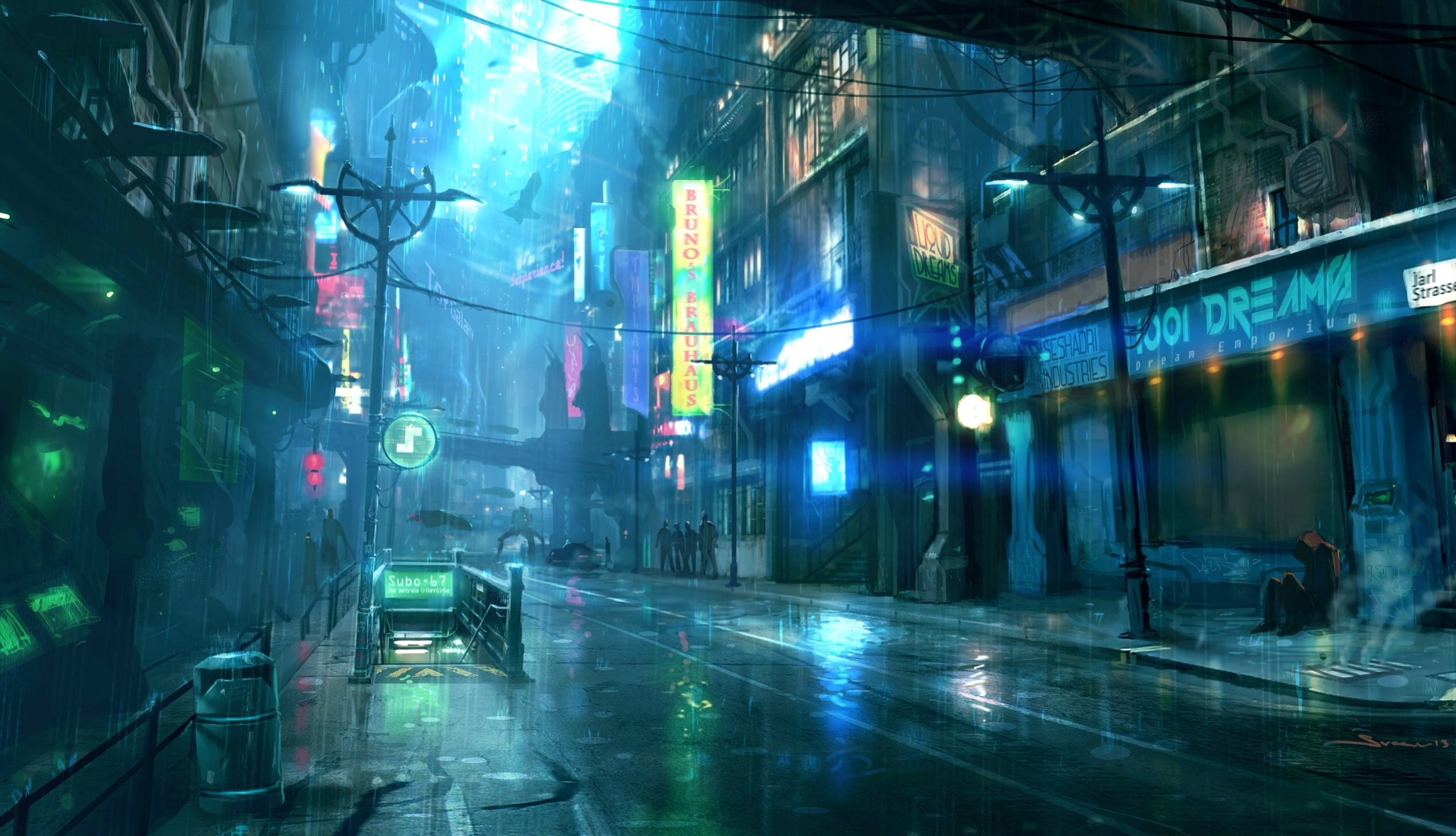 anime city night and heres another visually | <3 | pinterest | anime