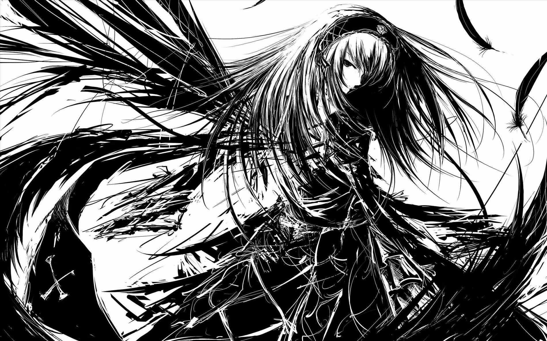 anime fallen angel wallpaper desktop i hd images s backgrounds abyss