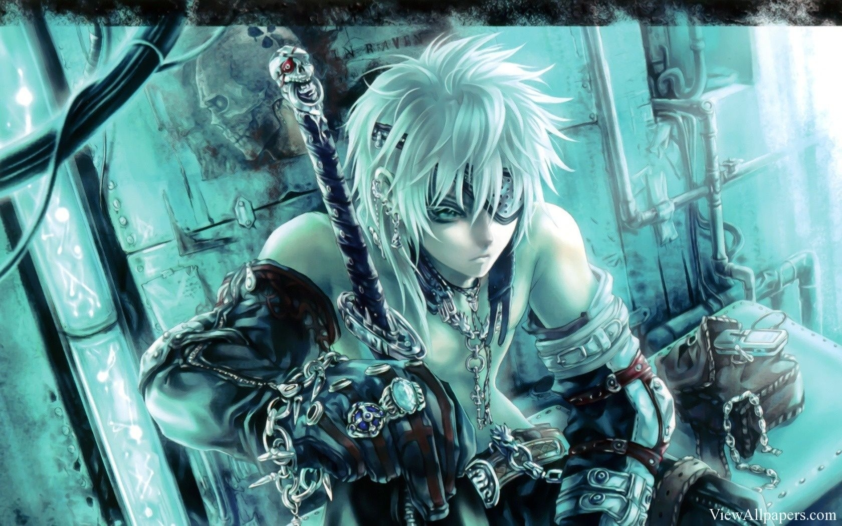 anime fighter warrior wallpaper high resolution, free download anime